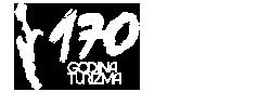 170 years of turism Cres croatia logo